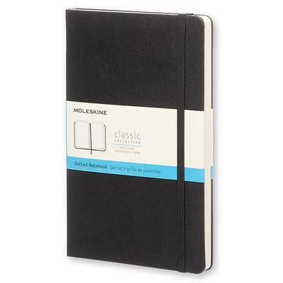 Блокнот Moleskine Classic Pocket A6 96 листов черный в точку на сшивке (90x140 мм)