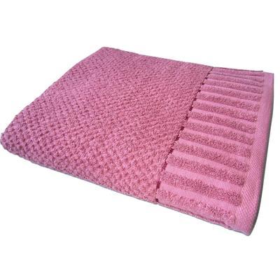Полотенце махровое Флер 70х130 см 450 г/кв.м ярко-розовое