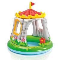 Детский надувной бассейн Intex Гриб Муxомор 102x89 см с навесом