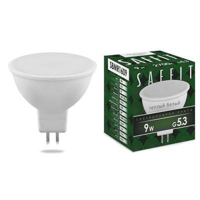 Лампа светодиодная Saffit 9 Вт G5.3 рефлектор 2700 К теплый белый свет
