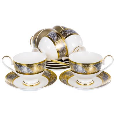 Сервиз чайный Balsford Саксония (125-14003) на 6 персон фарфор (12 предметов)