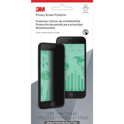 Экран защиты информации 3M для Apple iPhone 6 Plus/6s Plus/7 Plus черный (MPPAP010)