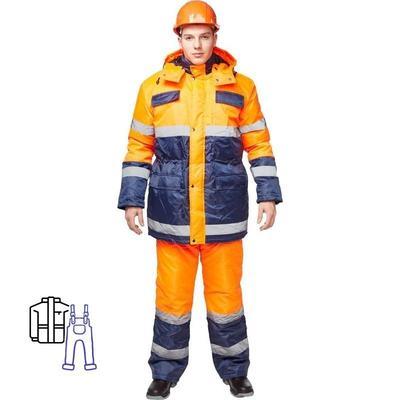 Костюм зимний Спектр-2 куртка и полукомбинезон (размер 60-62, рост 170-176)