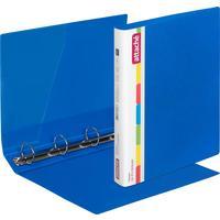 Папка на 4-х кольцах Attache 42 синяя до 250 листов (пластик 0.7 мм)