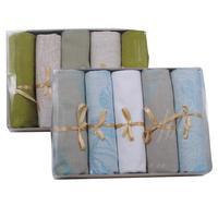 Набор полотенец льняных Лаура 50х70 см 5 штук в упаковке