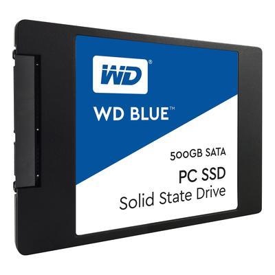 SSD накопитель Western Digital Blue 500 ГБ (WDS500G1B0A)