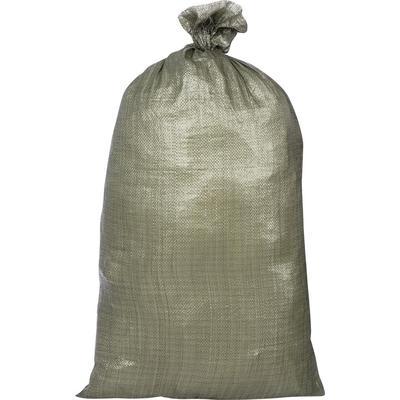 Мешок полипропиленовый второй сорт зеленый 55x105 см (100 штук в упаковке)