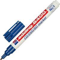 Маркер для CD Edding E-8400/3 синий (толщина линии письма 0.5-1 мм)