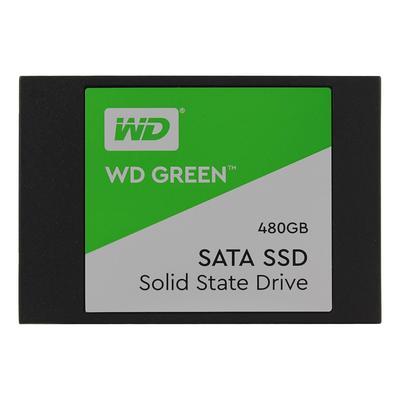 SSD накопитель Western Digital Green 480 ГБ (WDS480G2G0A)