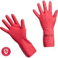 Перчатки латексные Vileda Professional Многоцелевые красные (размер 7.5-8, M, артикул производителя 100750)