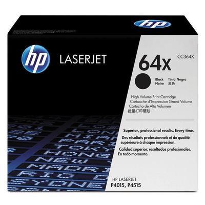 Картридж лазерный HP 64X CC364X черный оригинальный