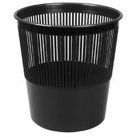 Корзина для мусора Attache 10 л пластик черная (26х27 см)