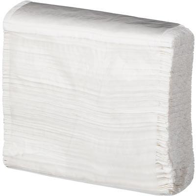 Полотенца бумажные листовые Z-сложения 2-слойные 18 пачек по 150 листов