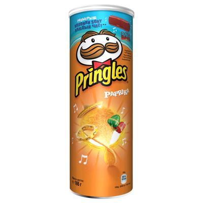 Чипсы Pringles со вкусом паприки 165 г