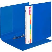 Папка на 2-х кольцах Attache 32 мм синяя до 150 листов (пластик 0.7 мм)