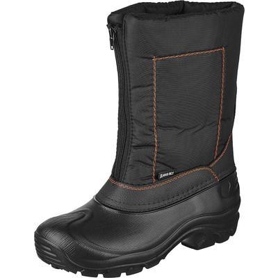 Боты утепленные мужские ЭВА комбинированные черные размер 44