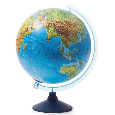 Глобус физико-политический рельефный Globen интерактивный с подсветкой  VR очки 320 мм