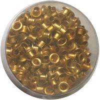 Люверсы для дырокола Attache 250 штук в упаковке диаметр 4.5 мм золотистые