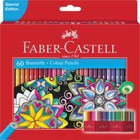 Карандаши цветные Faber-Castell 60 цветов шестигранные