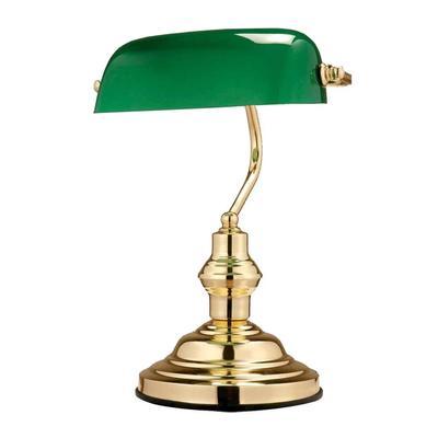 Светильник настольный Globo Antique 2491 золотистый