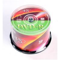 Диск DVD+R VS 4,7 GB 16x (50 штук в упаковке)