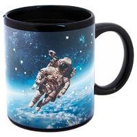 Кружка-хамелеон Эврика Космонавт 300 мл фарфор