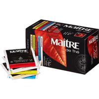Чай Maitre de The черный ассорти 25 пакетиков