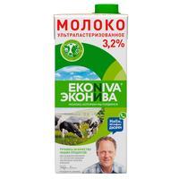 Молоко ЭкоНива ультрапастеризованное 3.2% 1 л