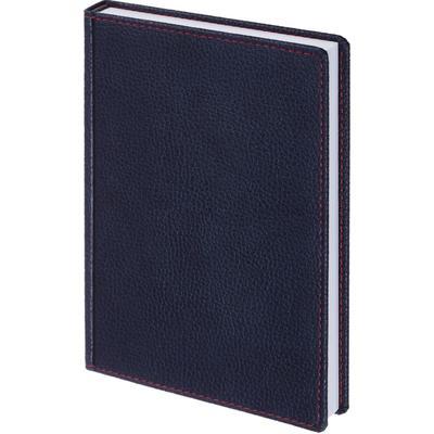 Ежедневник недатированный Attache Bizon искусственная кожа A5 176 листов синий (142x210 мм)