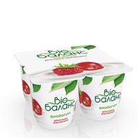 Йогурт Bio Баланс  биойогурт брусника и земляника 2.8% 125 г