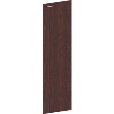 Дверь Grand средняя универсальная (темный орех, 450х16х1400 мм)