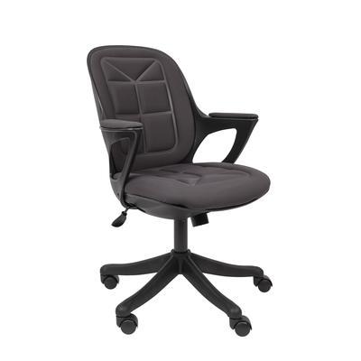 Кресло для руководителя РК 23 S серое (ткань/пластик)