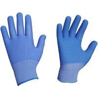 Перчатки рабочие nl11pd нейлоновые с ПВХ Точка в ассортименте (класс вязки 15, размер 9-11)