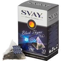 Чай Svay Black Thyme черный с чабрецом 20 пакетиков