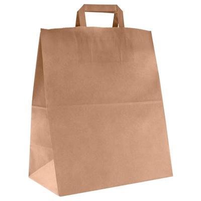 Крафт-пакет бумажный коричневый 32х20х37 см (275 штук в упаковке)