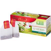 Чай Milford 12 herbs травяной ассорти 20 пакетиков