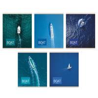 Тетрадь общая Канц-Эксмо Морское приключение А5 96 листов в клетку на скрепке (обложка в ассортименте)