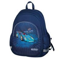 Рюкзак дошкольный Herlitz Race Car синий