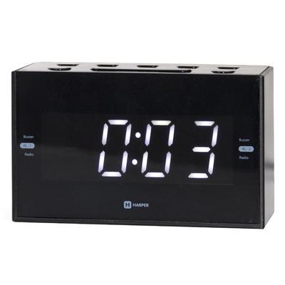 Радиобудильник Harper HCLK-2041 черный