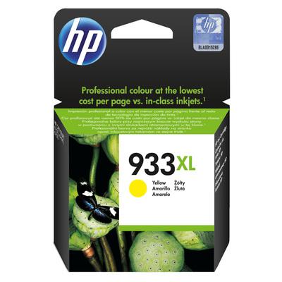 Картридж струйный HP 933XL CN056AE желтый повышенной емкости оригинальный