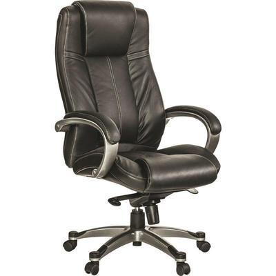Уценка. Кресло для руководителя Easy Chair 604 ML черное (кожа/пластик). уц_меб