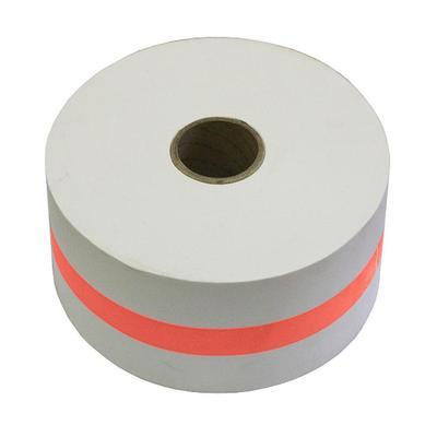 Лента бандерольная для автоматических упаковщиков монет 112 мм красная (бобина 300 м)
