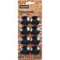 Магнитный держатель для досок Attache Loft HDF черный 40 мм 8 штук в упаковке