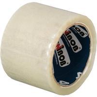Клейкая лента упаковочная прозрачная 72 мм x 66 м толщина 43 мкм