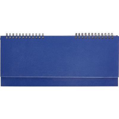 Планинг недатированный Attache бумвинил 64 листа синий (305х130 мм)