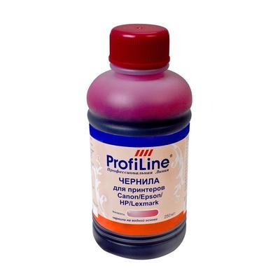 Универсальные чернила ProfiLine Premium для Canon/Epson/HP пурпурный 250 мл