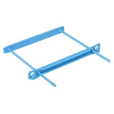 Механизм для скоросшивателя пластиковый синий (80x110 мм, 25 штук в упаковке)