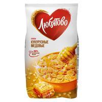 Хлопья кукурузные Любятово с  медом 250 г