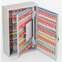 Шкаф для ключей Office-Force 20088 серый (на 200 ключей, металл)