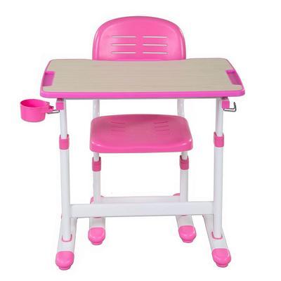 Комплект детской мебели Piccolino II Pink парта со стулом регулируемые (розовый)